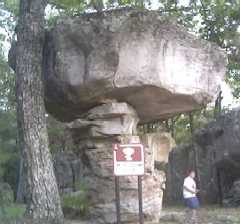 "Mushroom Rock (aka ""The Cup and Saucer"")"